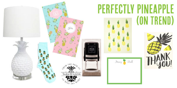 On Trend NOW – Perfectly Pineapple