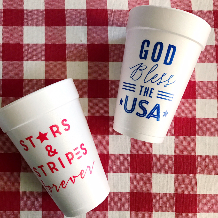 new patriotic cups sm